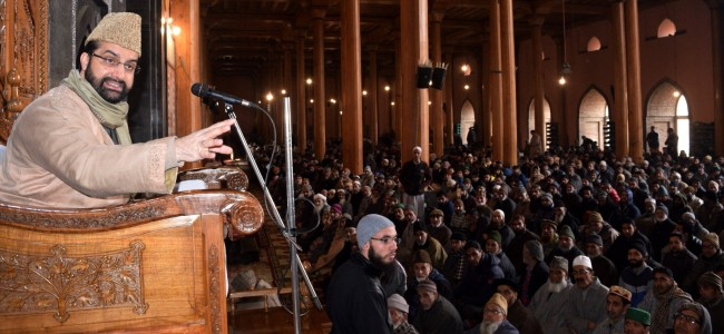 Govt unleashing 'repression' on people, leadership to silence them to submission: Mirwaiz