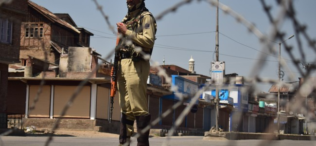Restrictions imposed in Old City, Kangan