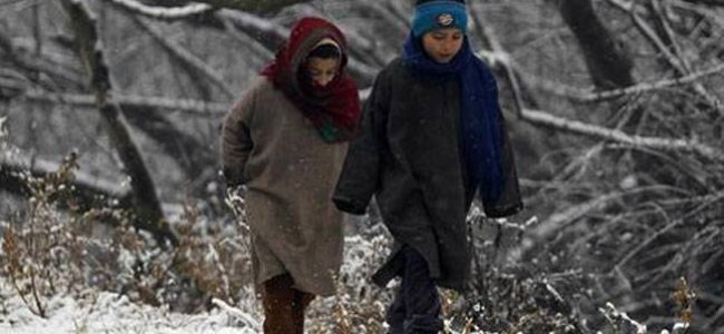 Night temp plunges: Srinagar at -3.5C, Gulmarg coldest in Kashmir at -6.6C