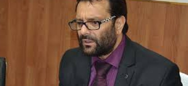 First day: Javaid Mustafa reviews disaster management sector