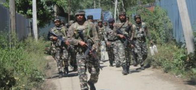 Pulwama encounter ends, 4 militants killed