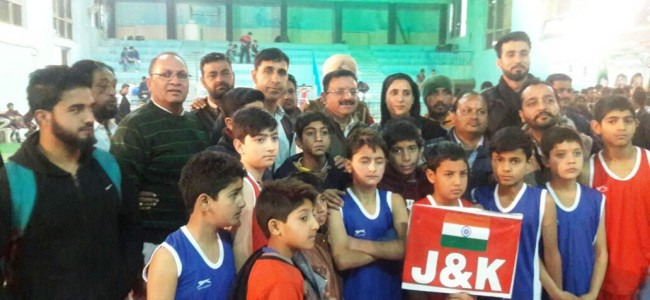 National Mix Boxing Championship: J&K bags 21 medals