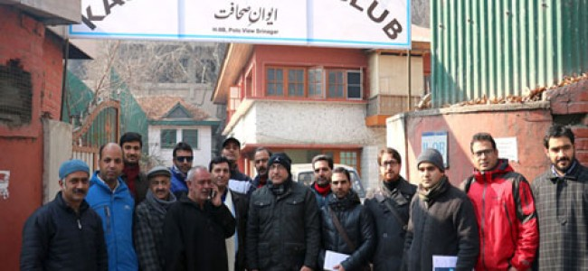 Kashmir Press Club becomes member of Federation of Press Club's of India