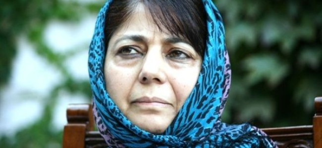 Mehbooba announces amnesty to youth involved in cases during 2016 unrest