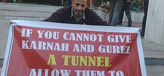 Let people of Gurez, Karnah migrate to 'other side' if you can't build tunnel for them: Er Rasheed