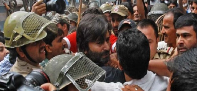 Yasin Malik not harassed, instead of producing papers created obstruction in the lawful duty: Police