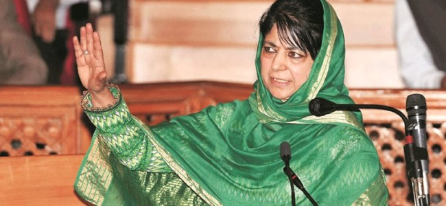 Kartarpur corridor could be 'new beginning' of reconciliation between India, Pak: Mehbooba