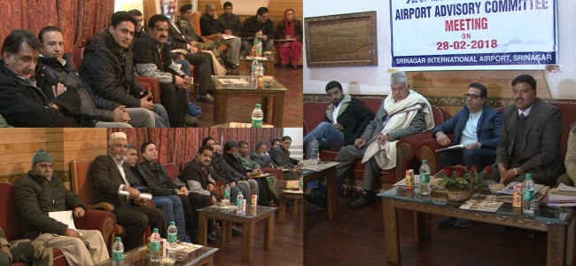 Farooq for formal naming of Sheikh-ul-Alam (RA) International Airport, to take up issue with MHA, Civil Aviation Ministry