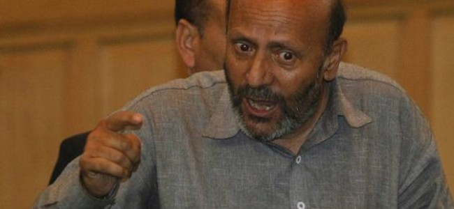 Arresting Naikoo's father, Salahuddin's son condemnable, militants should release abducted son of cop: Er Rasheed