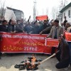 Protesting Contractors lock R&B office, demand clearance of pending bills