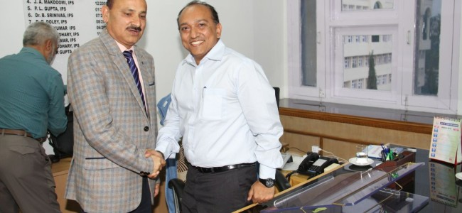 Anand Jain joins as IGP Headquarter PHQ