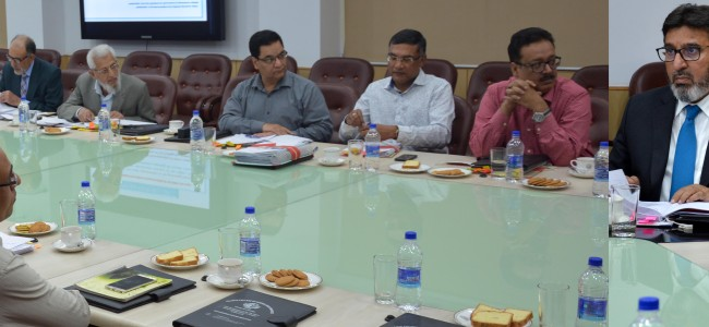 Mehbooba directs introduction of new Edu courses, strengthening of sports facilities