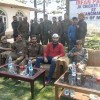 Irfan Pathan interacts with youth in event organized by police at Tangmarg