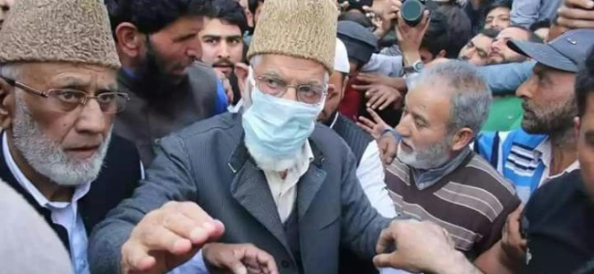 Syed Ali Geelani offers Friday prayers after 8 years of house detention