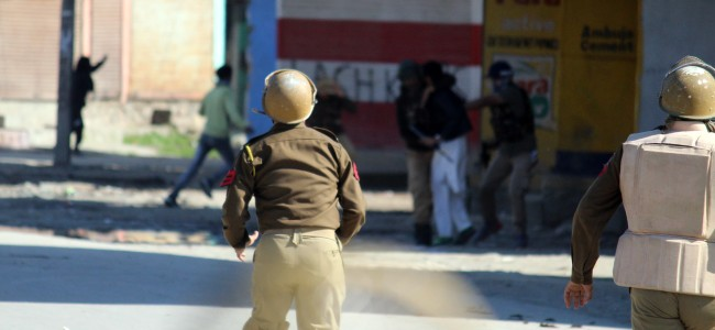 17206 arrested for stone pelting in Kashmir in last 3 years: GoI