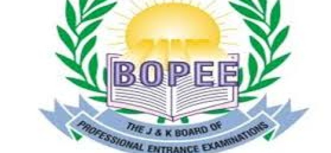 Domicile Certificate must for BOPEE exams