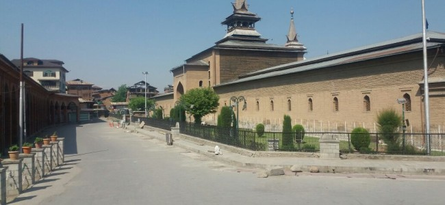 'Desecration' of Jamia pulpit: Mirwaiz to lead prayers at grand mosque tomorrow, Friday to be observed 'youm-e-Taqadus'