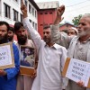 Gov't denying us even Body of our son, we have identified him: Family of Mudassir protests at press enclave