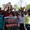 The members of Jammu and Kashmir Wildlife Employees and Workers Union protested against governments callous approach by not accepting their demands