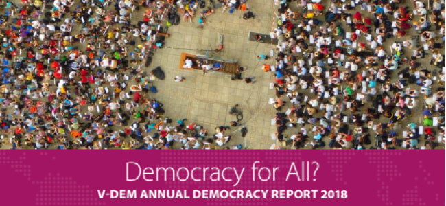 India is becoming part of Global Autocratization, liberal democracy at risk: V-Dem report