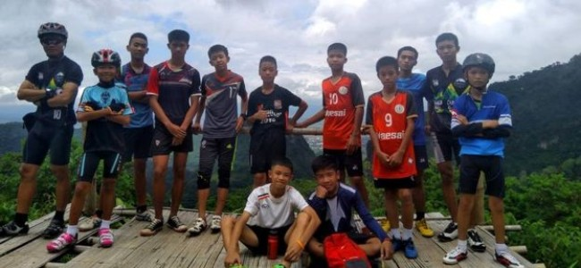 Thailand: Boys, coach who went missing inside caves, traced after nine days search, all alive