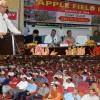 Governor inaugurates First Harvest of High Density Apples at SKUAST-K