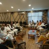 Mehbboba chairs PDP meet, discusses need to safeguard Article 35A