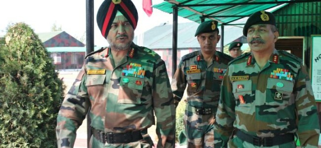 Army Commander reviews security situation