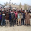 Truckers protest in Lethpora Pampore against FCI
