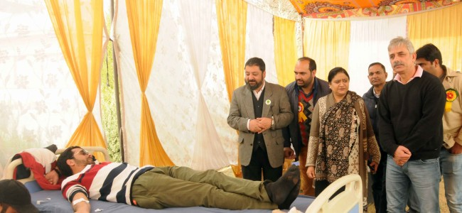 Blood Donation Camp held at KU