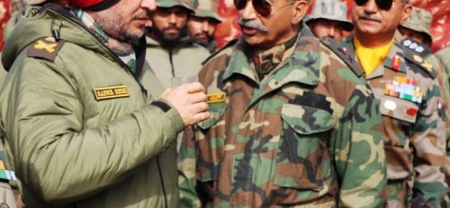 Lt Gen Ranbir Singh reviews security on LoC, visits HAWS Gulmarg