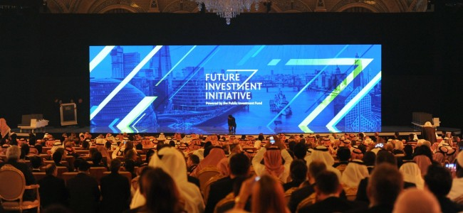 Saudi investment conference begins despite calls for a boycott