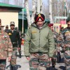 Army commander reviews Valley security