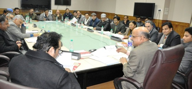 Remove impediments in developmental in Kashmir: CS to officials
