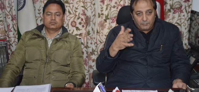 Div Com reviews development scenario in Baramulla, Kupwara
