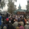 Thousands offer Khawaja Digar at Naqahbandh Sahib in Downtown Srinagar