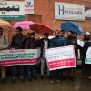 Kashmiri Language Union protest in Sringar, demand promotion and preservation of Kashmiri language