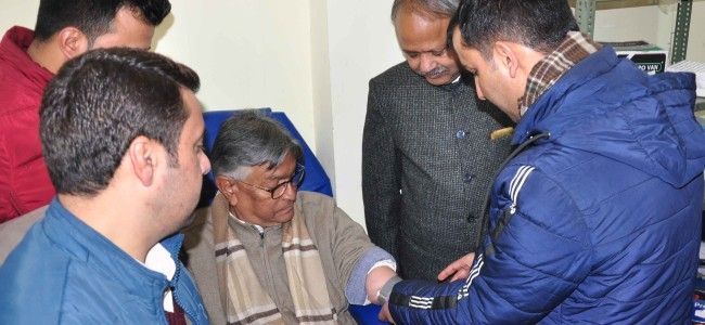 Free Diagnostic Camp held at KU