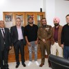 Cricketer Suresh Raina Meets DGP, Responds In Affirmative To Request For Engaging With J&K Youth