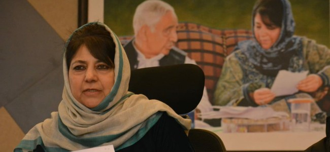 Don't turn Gandhi's India into Zia -ul-Haq's Pakistan: Mehbooba on Triple Talaq bill