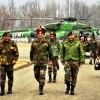 Army Commander Reviews Security In Valley