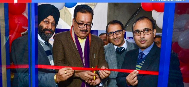 Navin Choudhary inaugurates 77th Branch of HDFC Bank in J&K