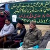 Non gazetted forest officers association Kulgam protests, put forward list of demands