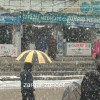 In pictures: snow blankets Srinagar