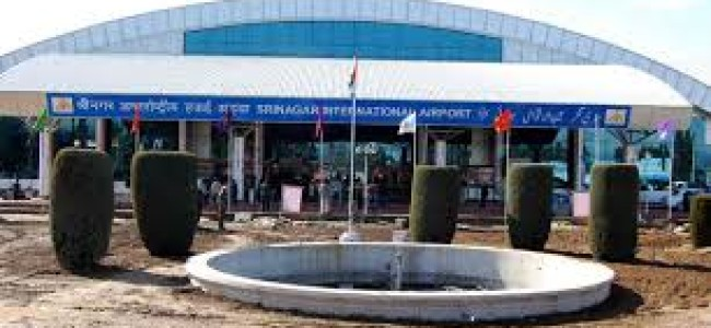 Srinagar airport: As bad weather hampers air traffic several flights cancelled