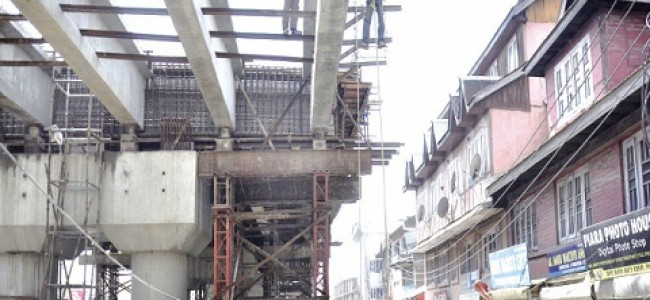 Jehangir Chowk–Rambagh Flyover: J&K ERA imposes second penalty of Rs 2 crore on Contractor