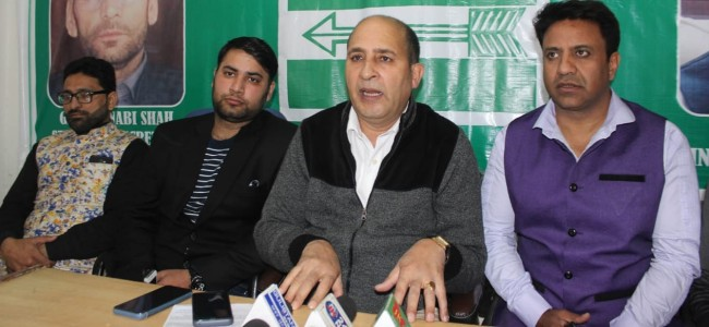 JDU urges Governor to address miseries of people stuck in snow bound areas of J&K