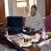 Advisor Skandan listens to public issues at Srinagar