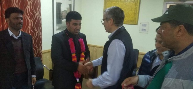Chairman Municipal committee Ganderbal along with councilors joins NC