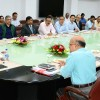 Governor reviews functioning of various departments